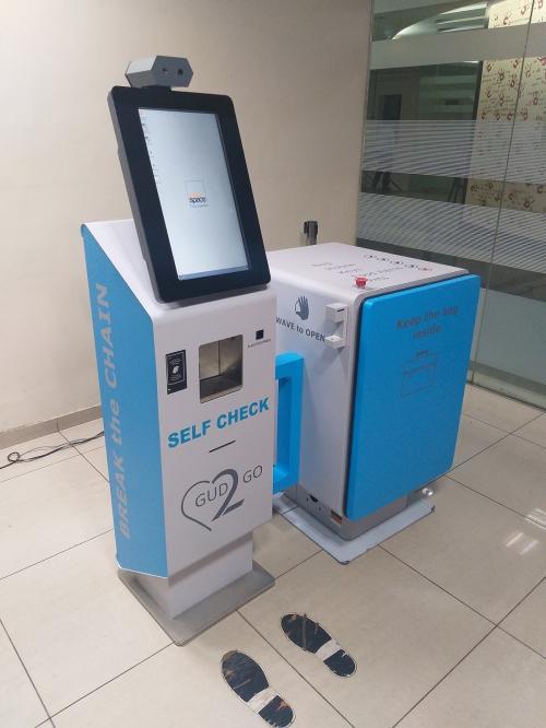 IIT-Guwahati develops self-check kiosk to detect, prevent COVID-19