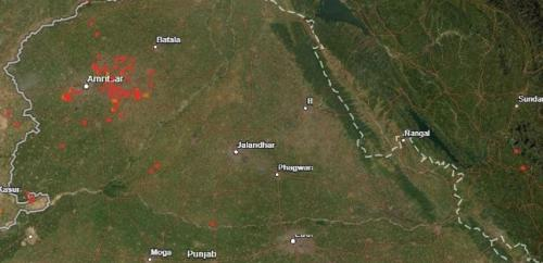 Counting north India's stubble fires: How do NASA satellites capture them