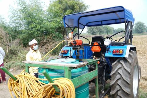 दिल्ली के 700-800 हेक्टेयर क्षेत्र में होगा बायो डीकंपोजर घोल का छिड़काव, हिरंकी गांव से हुई शुरुआत