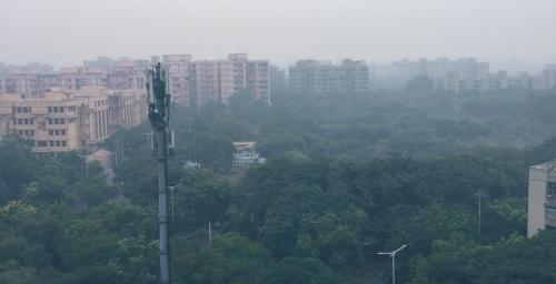 Increased stubble fires, calm conditions cause Delhi's air to become 'very poor'