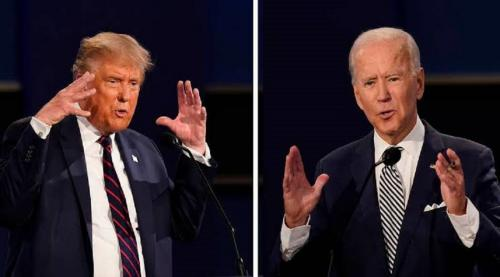 Chalk, cheese and climate change: What Trump and Biden think about the environment