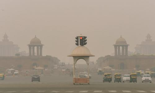 Air quality in Delhi-NCR improves slightly to 'very poor'