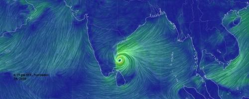 Cyclone Nivar storm, rain may hit agriculture across south India