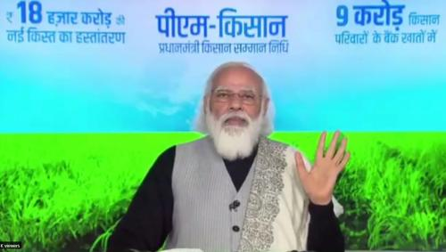 Cheers, agriculture is finally a political agenda in India