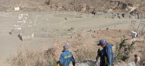 Glacier breaks in Chamoli, experts blame low snowfall