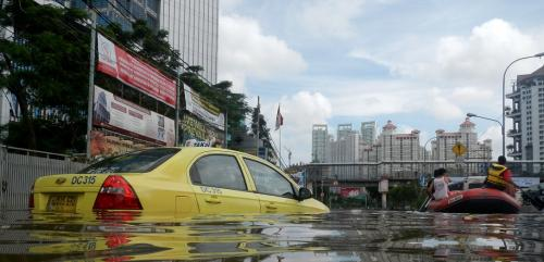 Sea levels are rising fastest in big cities – here's why