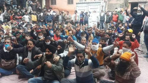 Why Jammu's Jal Shakti daily wagers are on hunger strike