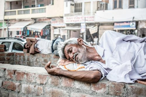 Mass poverty is back in India
