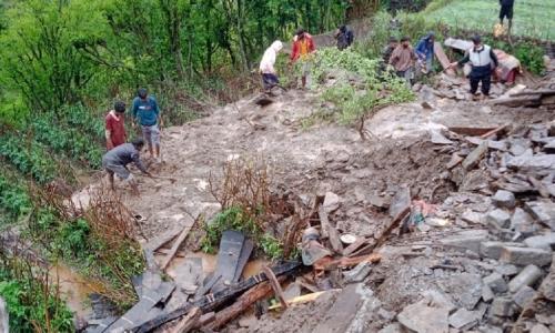 उत्तराखंड: मई माह में छठी बार हुई बादल फटने की घटना, तीन की मौत