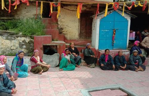 48 साल बाद पर्यावरण और अपना अस्तित्व बचाने के लिए रैणी गांव ने फिर कसी कमर