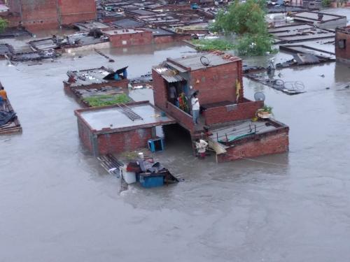 उत्तराखंड: चंपावत में 24 घंटे में 593 और नैनीताल में 535 मिलीमीटर बारिश, भारी नुकसान