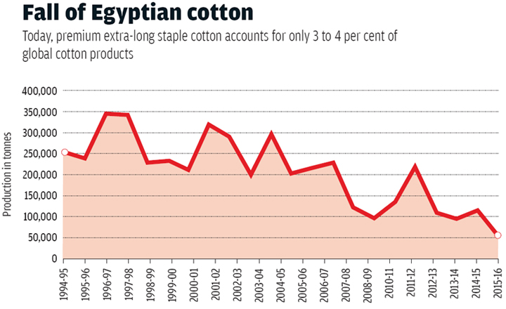 Source: Mohamed A M Negm, general coordinator, Interregional Cooperative Research Network on Cotton for the Mediterranean &