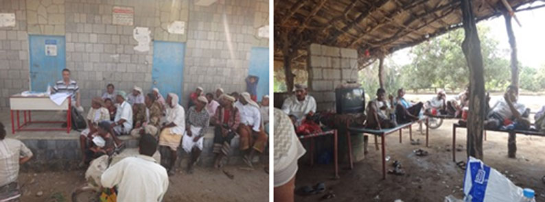Photographs for the meeting with WUAs and farmers in Wadi Siham