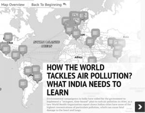 How the world tackles air pollution?