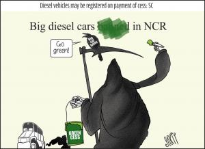 Air pollution: will the green cess concept work?