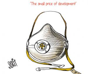 Masked development