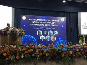The theme of the latest edition of the Indian Science Congress was
