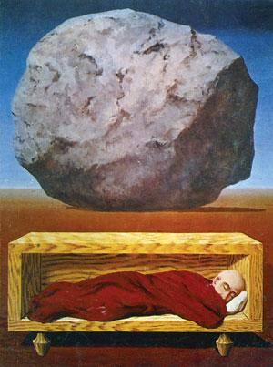 The absurdity of existence that repeats itself ad infinitum was the topic of Albert Camus' essay The Myth of Sisyphus
