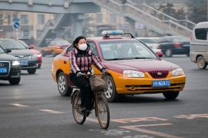 Warming-induced weather change is worsening China's air quality