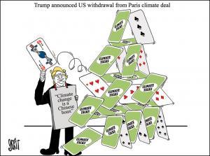 Trump dumps the Paris climate deal