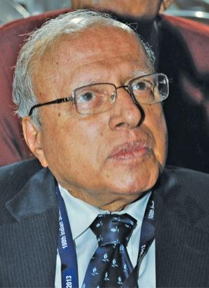 M S Swaminathan