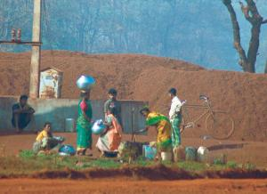 About 70 per cent of the money received in District Mineral Foundation trusts has come from India's three big mining states—Odisha, Jharkhand and Chhattisgarh (Photo: Pradip Saha)