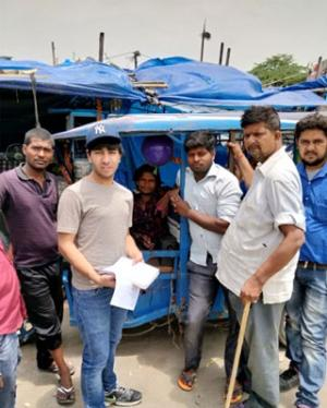 At Harkesh Nagar, New Delhi, 