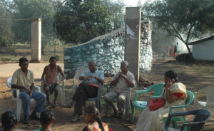 Unless there is an equal representation of mining-affected people and mine workers in the governing council, the needs of people affected by mining can not be addressed. Credit: Chandra Bhushan
