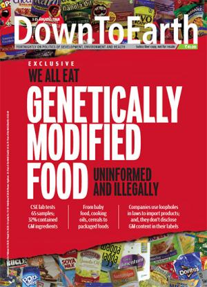 WE ALL EAT GENETICALLY MODIFIED FOOD
