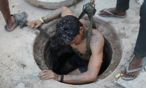 Manual scavenging: Non-existent for govt, yet people die 30-ft under ground