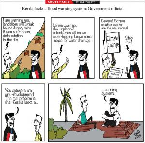 Kerala lacks a flood warning system
