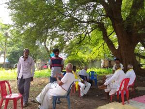माओवादी इलाके में गांधी जयंती पर शांति यात्रा