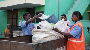 Is Swachh Bharat Mission ensuring waste segregation systems?