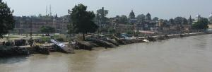 The river of Ayodhya is choking to death