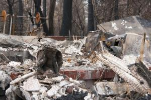 "It says that the most expensive natural disaster was the ""Camp Fire"" in northern California with overall losses of US$ 16.5bn and insured losses of US$ 12.5bn. Image credit: U.S. Air Force photo by Staff Sgt. Taylor Workman"
