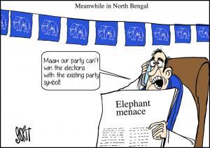 Simply put: Elephant menace