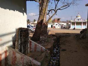 Between Gods and waste, Berambadi. Photo: Anu Karippal