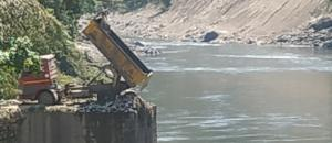 Arunachal's pristine river Kameng turns into dumpyard