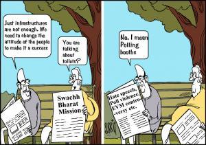 Simply put: Swachh Bharat
