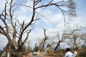 Cyclone Fani: The tale  of a weird storm