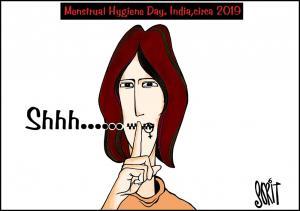 Menstrual Hygiene Day. India, circa 2019