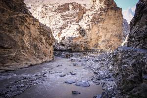 Satluj — which before merging with Spiti River at Khab, originated from Tibet's Mount Kailash — enters India at Shipkila. It cuts across the Great Himalayan Range in Kinnaur, where it is better known as 'Zang-Ti' or the 'Golden Water'. Currently, it hosts