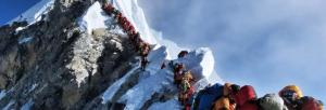 'We need to treat the mountains gently and with respect'