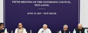 NITI Aayog meeting: PM finally comes around to the existence of water, agrarian crises