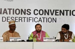 यूएनसीसीडी कॉप-14 सम्मेलन शुरु, 30 फैसलों पर सहमति की उम्मीद