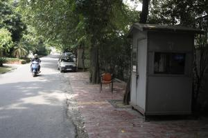"The Supreme Court ruling on parking policy on September 2, 2019 declared that ""footpaths are for pedestrians"". The court criticised the encroaching of footpaths for gardening and installing cabins for security guards. This is one such lane in Greater Kail"