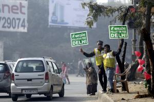 दिल्ली में ऑड-ईवन की वापसी, दोपहिया वाहनों पर रुख साफ नहीं?
