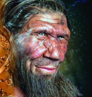 An artist's impression of Neanderthal. Photo: Michael Smeltzer, Vanderbilt University