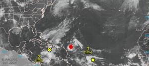 Six tropical storms whirling over Atlantic and Pacific