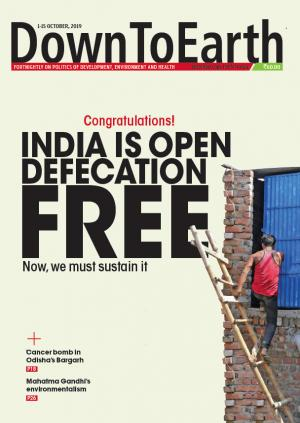 Congratulations! India is open defecation free